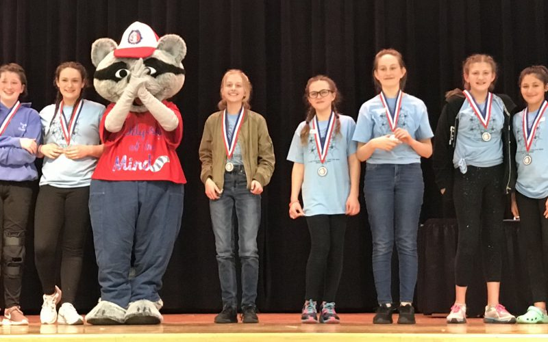 Crispell Odyssey of the Mind first place team